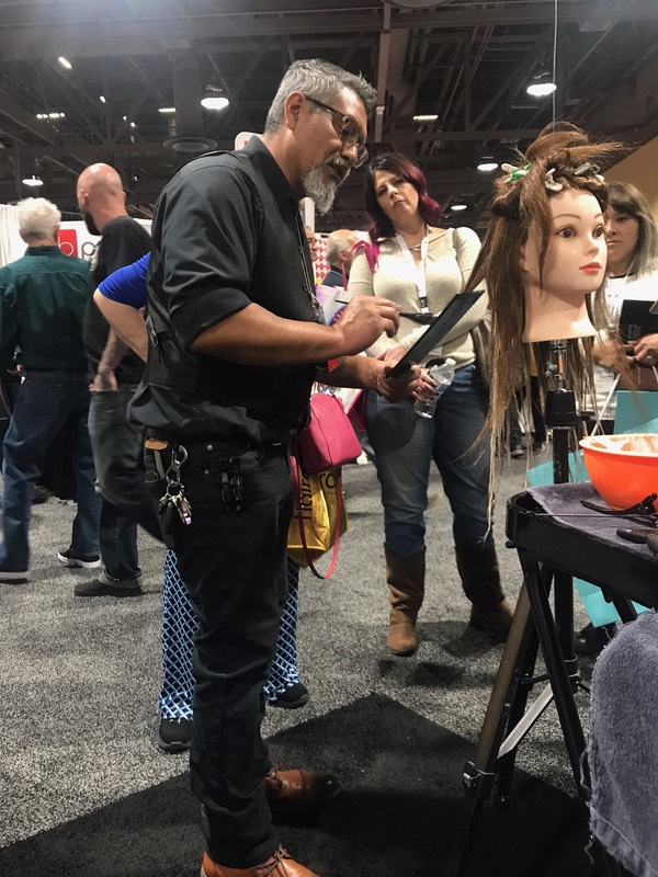 Isse long beach hair show 2018