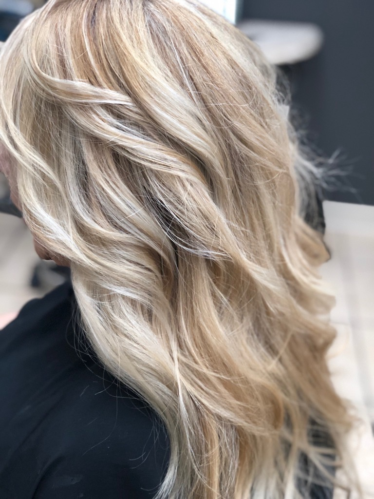 Balayage with colourweand