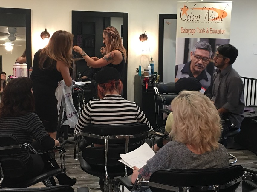 COLOURWAND BALAYAGE HANDS ON CLASSES
