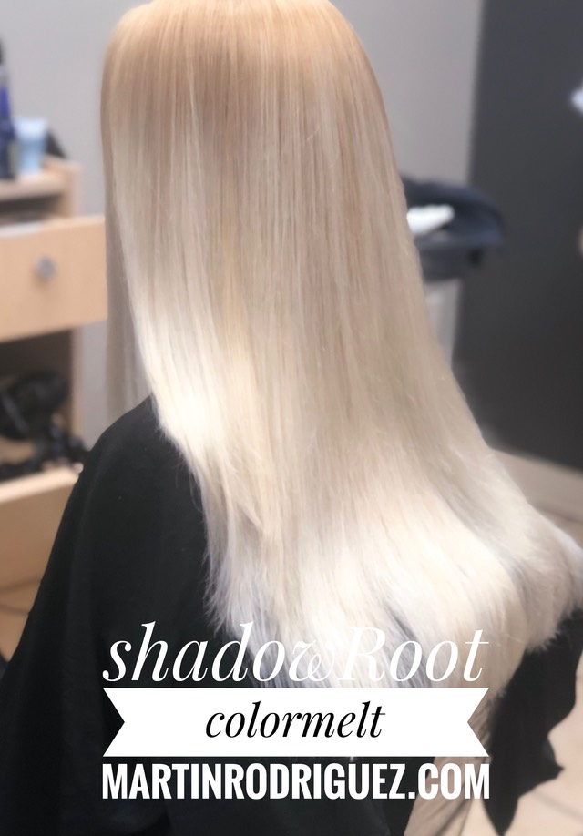 shadow color melts with colourwand